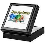 Simple Triple Standard Keepsake Box