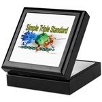 Simple Triple Standard Keepsake Box