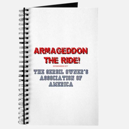 ARMAGEDDON THE RIDE - GERBIL OWNERS ASS&#3 Journal