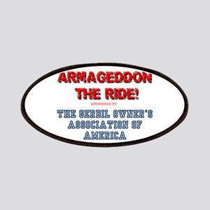 ARMAGEDDON THE RIDE - GERBIL OWNERS ASS' Patch
