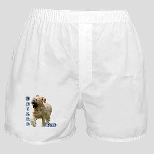 Briard Dad4 Boxer Shorts