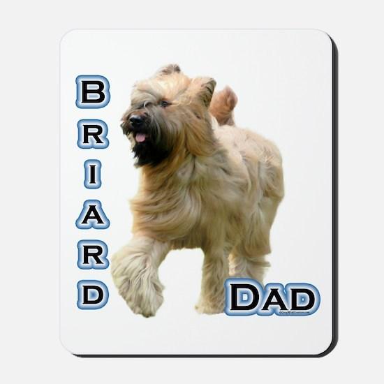Briard Dad4 Mousepad