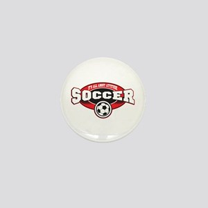 All About Attitude Soccer Mini Button (10 pack)