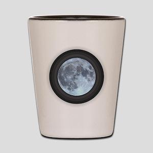 Moon w Rings Shot Glass