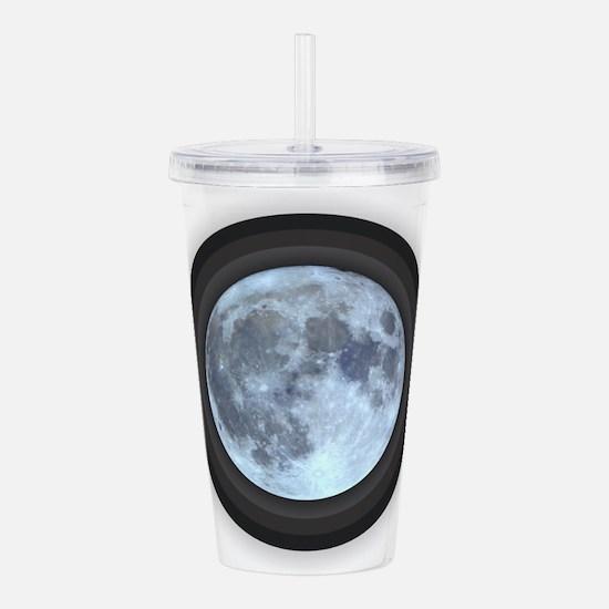 Moon w Rings Acrylic Double-wall Tumbler