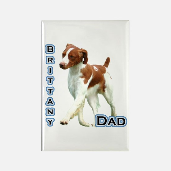 Brittany Dad4 Rectangle Magnet (10 pack)