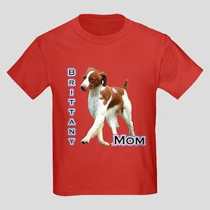 Brittany Mom4 Kids Dark T-Shirt