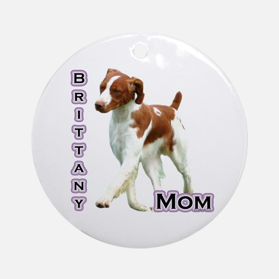 Brittany Mom4 Ornament (Round)