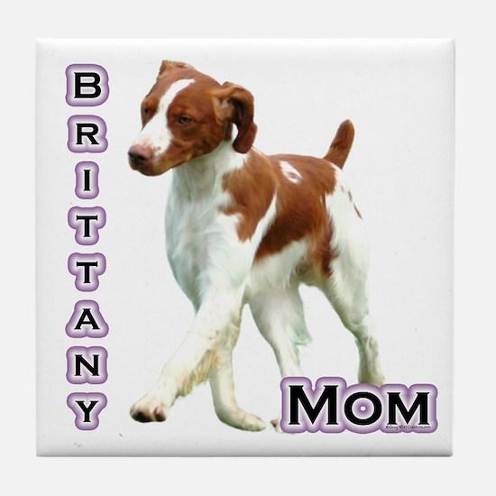 Brittany Mom4 Tile Coaster