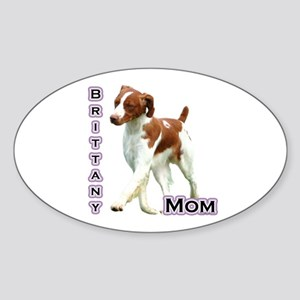Brittany Mom4 Oval Sticker