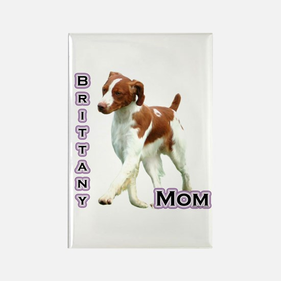 Brittany Mom4 Rectangle Magnet (10 pack)