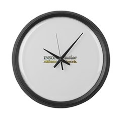 IAAN Rectangle Large Wall Clock
