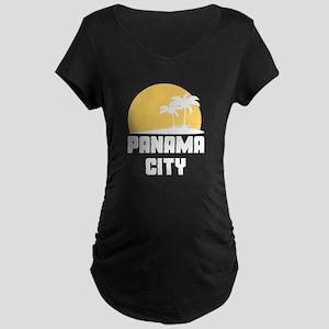 Palm Trees Panama City T-Shirt Maternity T-Shirt