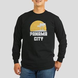 Palm Trees Panama City T-Shirt Long Sleeve T-Shirt