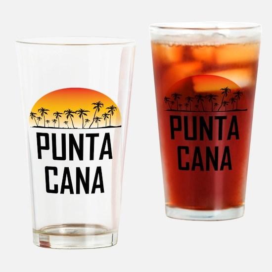 Punta Cana Sunset Drinking Glass