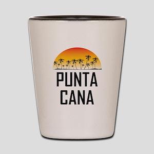 Punta Cana Sunset Shot Glass