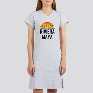 Riviera Maya Sunset Women's Nightshirt