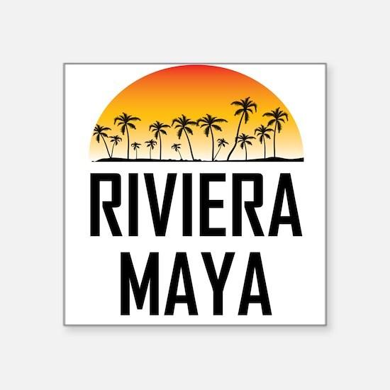 Riviera Maya Sunset Sticker