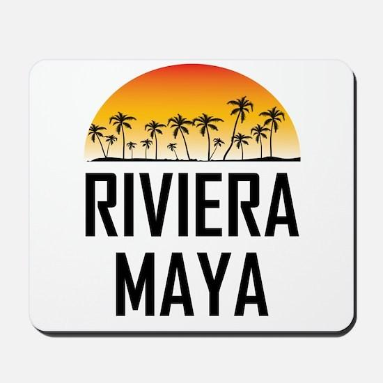 Riviera Maya Sunset Mousepad