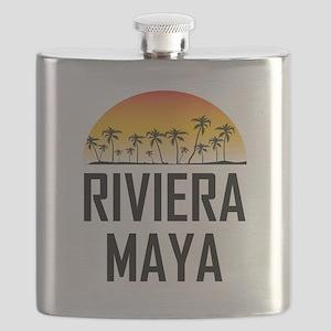 Riviera Maya Sunset Flask