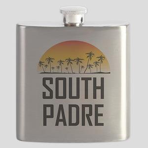 South Padre Island Sunset Flask
