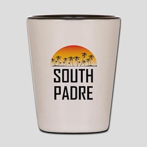 South Padre Island Sunset Shot Glass