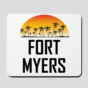 Fort Myers Sunset Mousepad