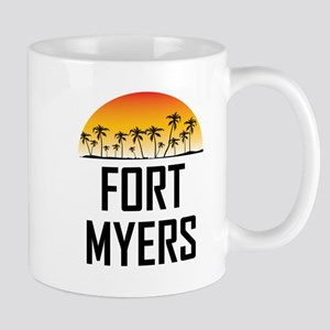 Fort Myers Sunset Mugs