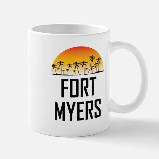 Fort Myers Sunset Mugs