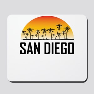 San Diego Sunset Mousepad