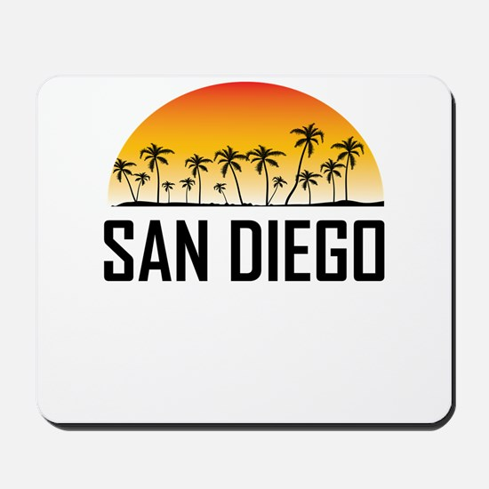San Diego Sunset Mousepad