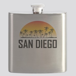San Diego Sunset Flask