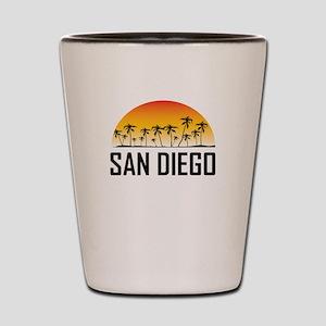 San Diego Sunset Shot Glass