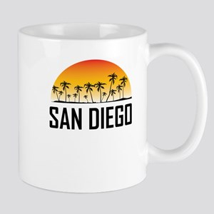 San Diego Sunset Mugs