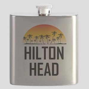 Hilton Head Sunset Flask