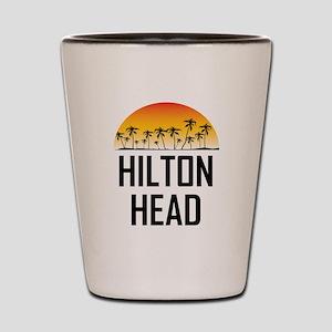 Hilton Head Sunset Shot Glass