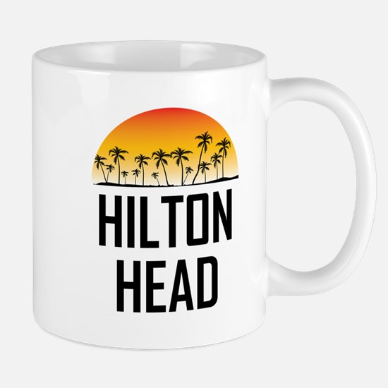 Hilton Head Sunset Mugs