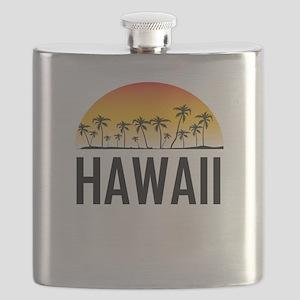 Hawaii Sunset Flask