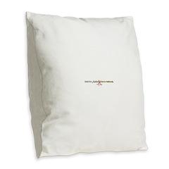 IAAN A-Listed Burlap Throw Pillow