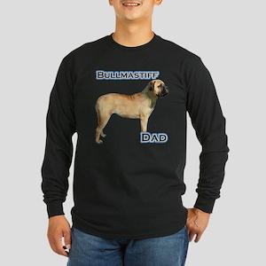 Bullmastiff Dad4 Long Sleeve Dark T-Shirt
