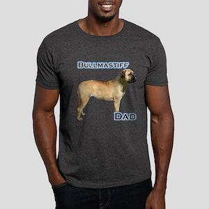 Bullmastiff Dad4 Dark T-Shirt