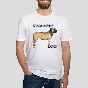 Bullmastiff Dad4 Fitted T-Shirt