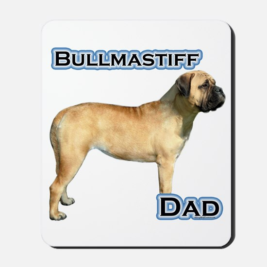 Bullmastiff Dad4 Mousepad