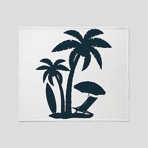 Beach Life Throw Blanket