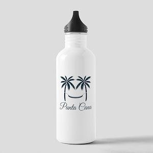 Palm Trees Punta Cana T-Shirt Water Bottle