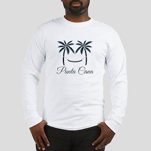 Palm Trees Punta Cana T-Shirt Long Sleeve T-Shirt
