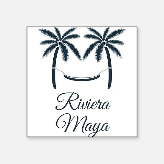 Palm Trees Riviera Maya T-Shirt Sticker