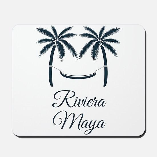 Palm Trees Riviera Maya T-Shirt Mousepad