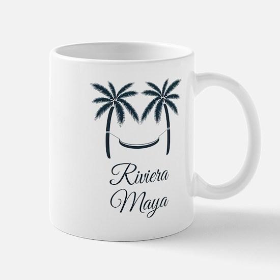 Palm Trees Riviera Maya T-Shirt Mugs