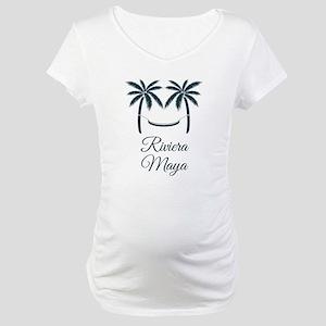 Palm Trees Riviera Maya T-Shirt Maternity T-Shirt